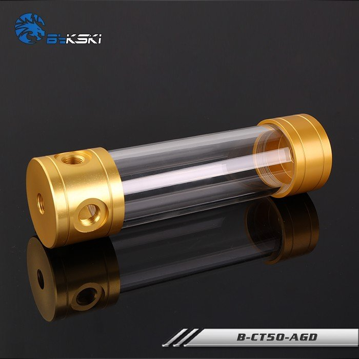 Bykski B-CT50-AGD Gold - 200mm Cylindrical Water Tank