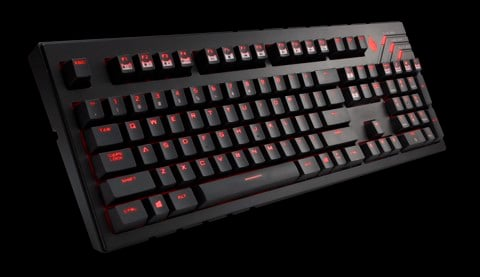 CM Storm QuickFire Ultimate - Cherry MX Blue Mechanical Keyboard