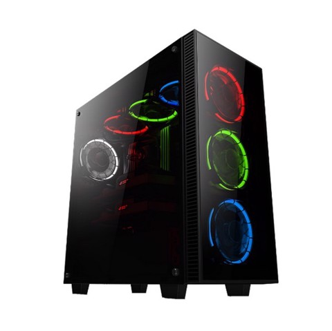 Infinity Revenge RGB -3 Sides Tempered Glass Mid-Tower Silent Case
