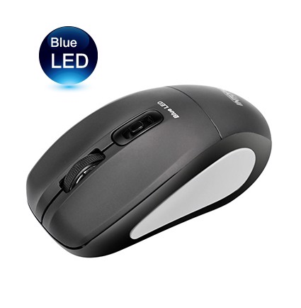 Intopic BL-560 Blue-LED - Wireless Optical Mouse