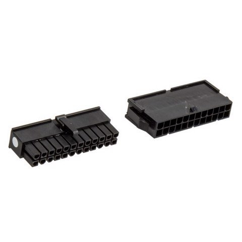 CableMod Connector Pack – 24 pin ATX – Black
