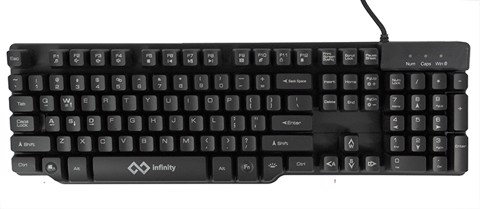 infinity Witcher - 3 color Led Imitation Mechanical Gaming keyboard