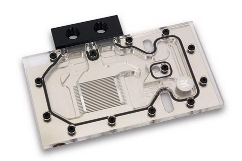 EK Full Block Nickel for Nvidia GTX Titan