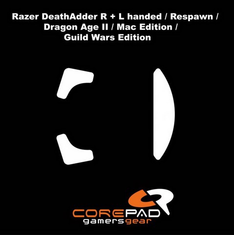 Corepad Skatez Pro for Razer Death Adder Series -100% PTFE Mouse feet