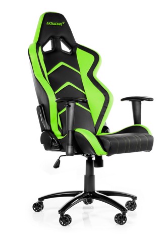 AK Racing Player+ Black/Green - Gaming Chair