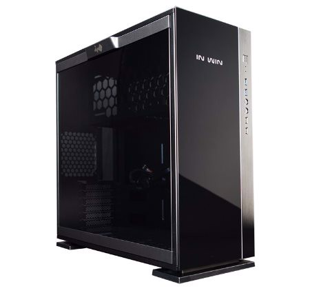 In-Win 305 Black - Full Side Tempered Glass Mid-Tower Case