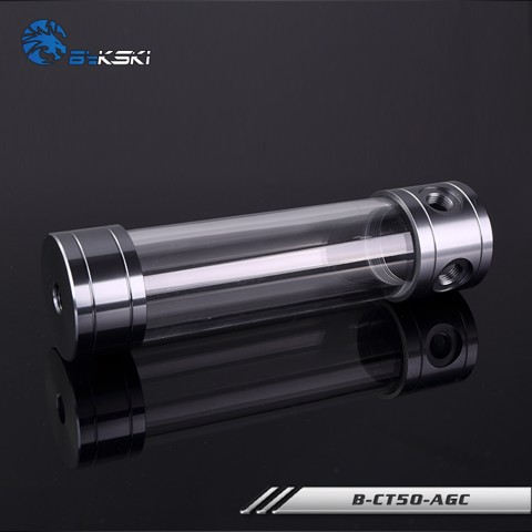 Bykski B-CT50-AGC Grey - 200mm Cylindrical Water Tank