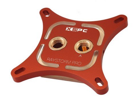 XSPC RayStorm Pro Red Custom Led - Premium Cpu WaterBlock