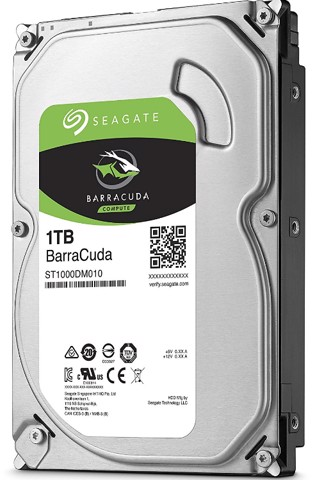 Seagate Barracuda 1TB Sata 3 6Gb/s 7200rpm 64MB