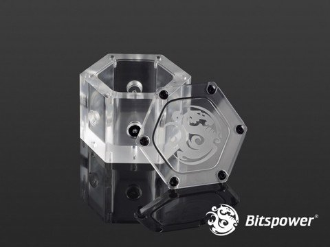 Bitspower Water Tank Hexagon - Acrylic (Limited Edition)