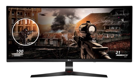 LG 34″ 34UC79G-P Curved - IPS LED ULTRAWIDE 144HZ Gaming Monitor