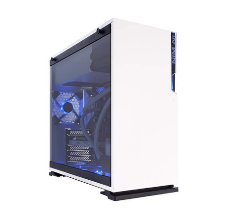 In-Win 101 White - Full Side Tempered Glass Mid-Tower Case