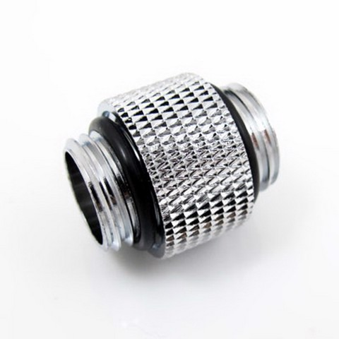 XSPC 10mm Male to Male Chrome Fitting