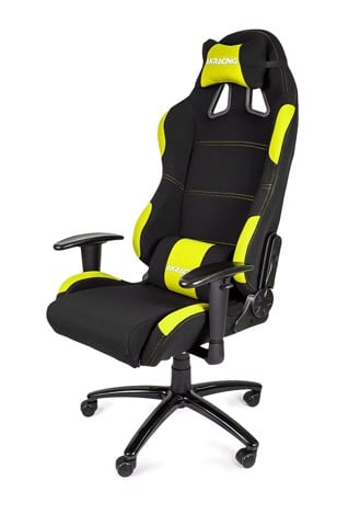 AK Racing K701A Black/Yellow - 4D Armrest Gaming Chair