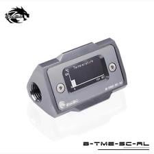 Bykski B-TME-SC-AL Gun Metal - Thermal Meter Custom WaterCooling