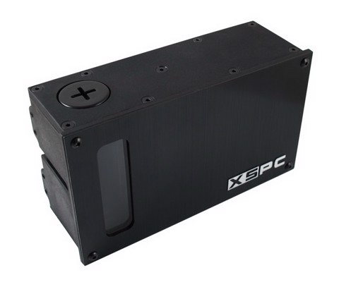XSPC D5 Dual Bay Reservoir - Black
