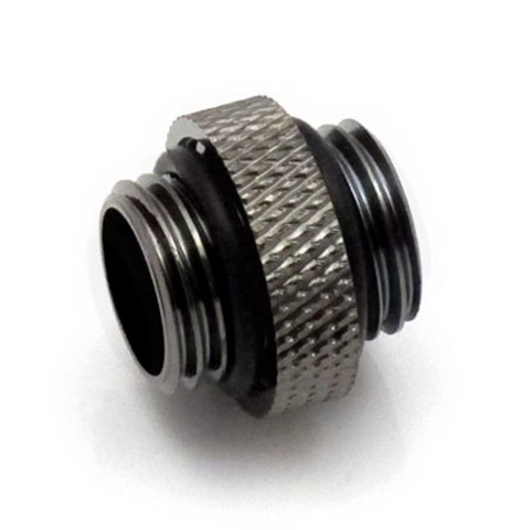 XSPC 5mm Male to Male Black Chrome Fitting