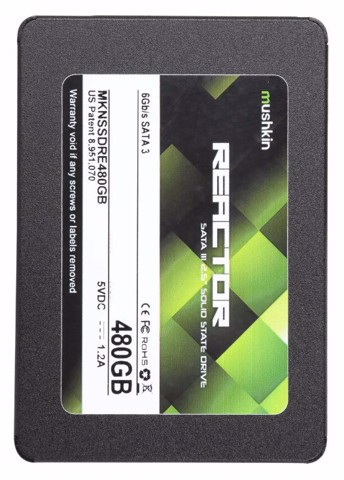 Mushkin Enhanced Reactor LT 7mm 480GB - Sata3 SSD