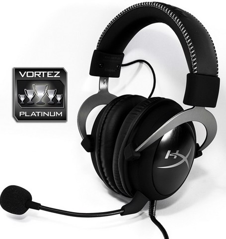 Kingston HyperX Cloud II Gun Metal - 7.1 Virtual Surround Gaming Headset