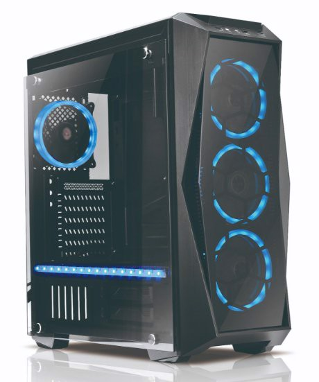 Infinity Soul Pro - 2 Tempered Glass Gaming Case