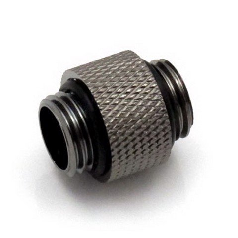 XSPC 10mm Male to Male Black Chrome Fitting