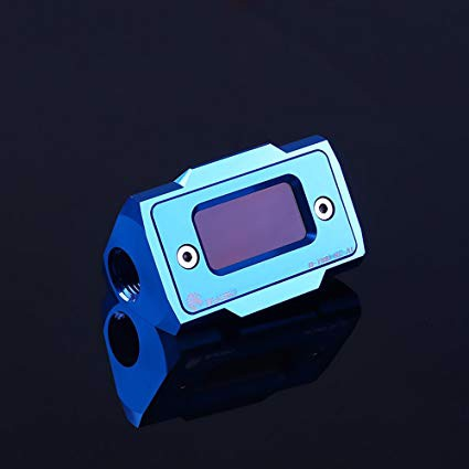Bykski B-TME-SC-AL Blue - Thermal Meter Custom WaterCooling