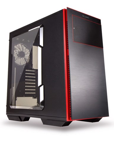 In-Win 707 Black/Red Aluminium -  Full Tower Case