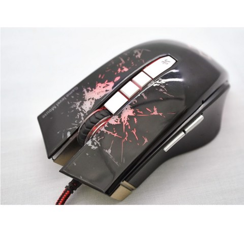 infinity Luna Black - 2400 DPI Gaming Mouse