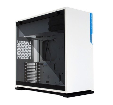In-Win 101C White RGB - Full Side Tempered Glass Mid-Tower Case