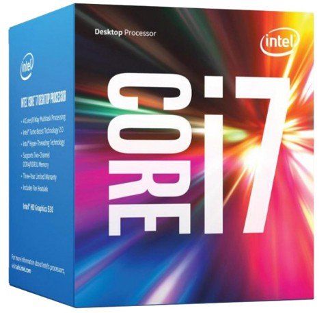 Intel Core i7-7700 3.6GHz (4.2GHz Turbo Boost ) Kabylake LGA 1151