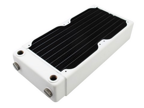 XSPC RX240 V3 White - Extreme Performance Radiator