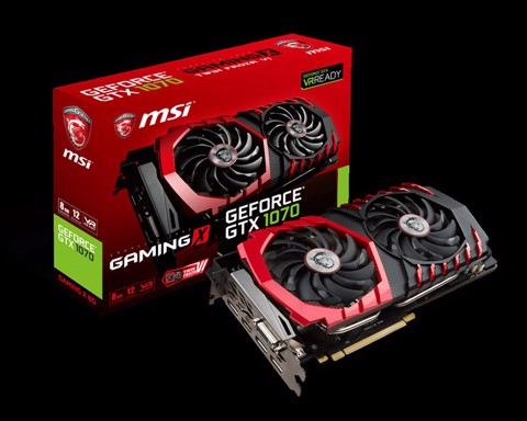 MSI GTX 1070 Gaming  8GB (256 bit) DDR5