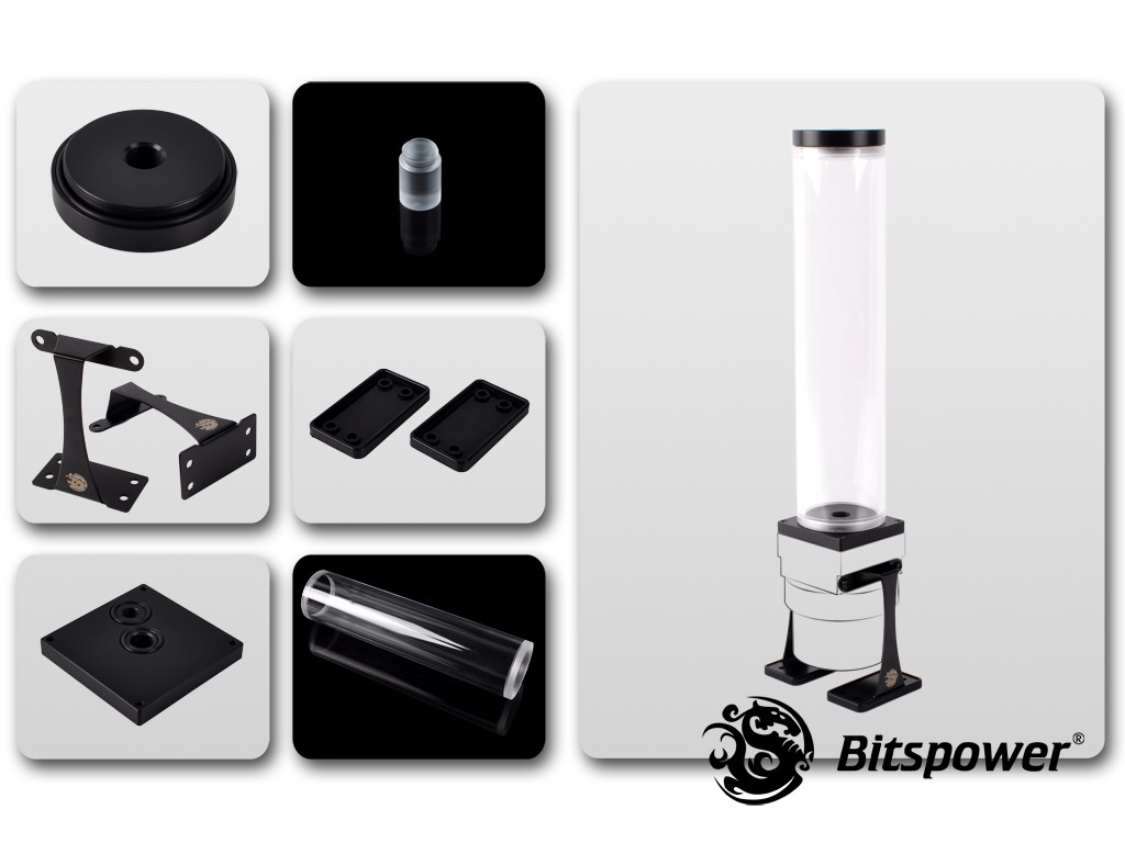 Dual / Single D5 Top Upgrade Kit 250 (Black POM Cap)