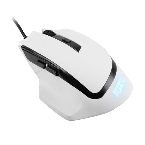 Sharkoon Shark Force White - Gaming Optical Mouse