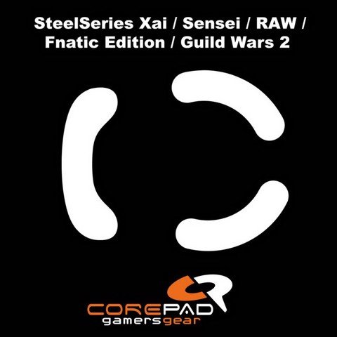 Corepad Skatez Pro for Steelseries Xai-Sensei Series -100% PTFE Mouse feet