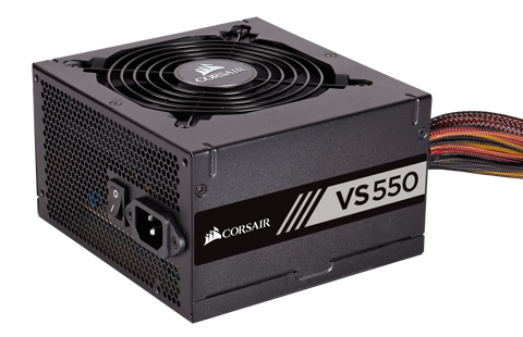 Corsair VS550 80Plus 230VEU New Version 2018