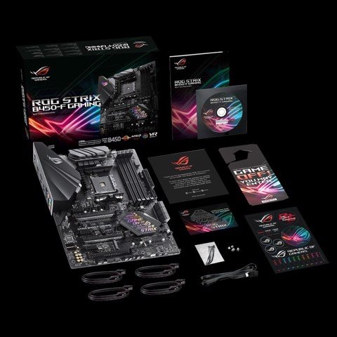 ASUS ROG STRIX B450-F GAMING - Socket AM4
