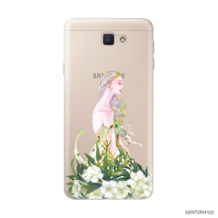 GREEN GIRL IN PEACE - Samsung Galaxy J5 Prime