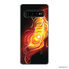 FIRE FEATHER - Samsung Galaxy S10 Plus