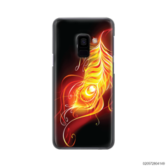 FIRE FEATHER - Samsung Galaxy A8 Plus 2018