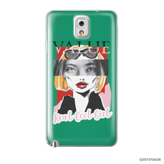 CUSTOM YOUR EYES WITH COOL GIRL - Samsung Galaxy Note 3