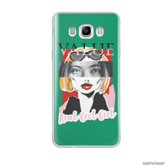 CUSTOM YOUR EYES WITH COOL GIRL - Samsung Galaxy J7 2016