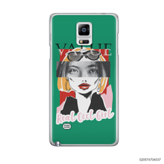 CUSTOM YOUR EYES WITH COOL GIRL - Samsung Galaxy Note 4