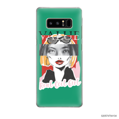 CUSTOM YOUR EYES WITH COOL GIRL - Samsung Galaxy Note 8