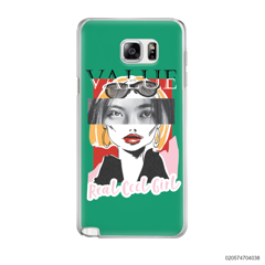 CUSTOM YOUR EYES WITH COOL GIRL - Samsung Galaxy Note 5