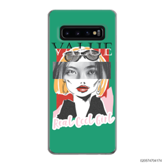 CUSTOM YOUR EYES WITH COOL GIRL - Samsung Galaxy S10 Plus