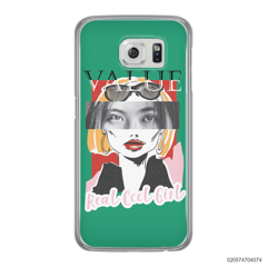 CUSTOM YOUR EYES WITH COOL GIRL - Samsung Galaxy S6 Edge