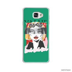 CUSTOM YOUR EYES WITH COOL GIRL - Samsung Galaxy A5 2016