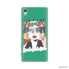 CUSTOM YOUR EYES WITH COOL GIRL - Sony Xperia X