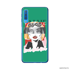 CUSTOM YOUR EYES WITH COOL GIRL - Samsung Galaxy A7 2018